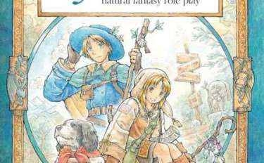 Cover image for the Ryuutama role-playing game rule book